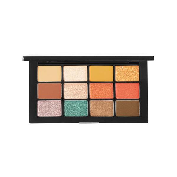 Little Black Tube 12 Color Eyeshadow Palette 03 Warm Neutrals