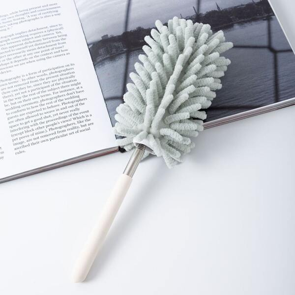 1pc Multifunction Flexible Cleaning Brush, Mint green
