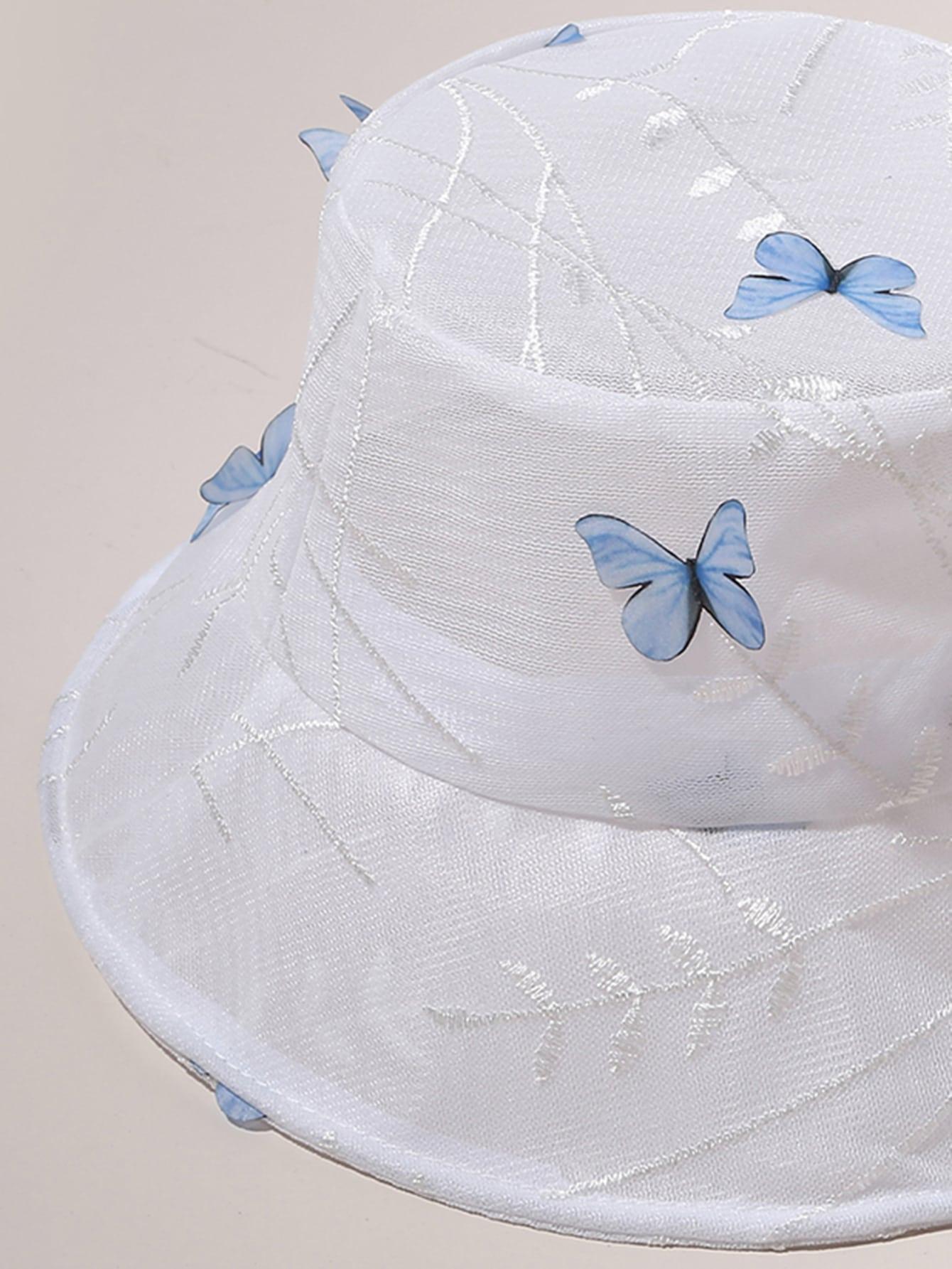 Butterfly Pattern Bucket Hat Shein In