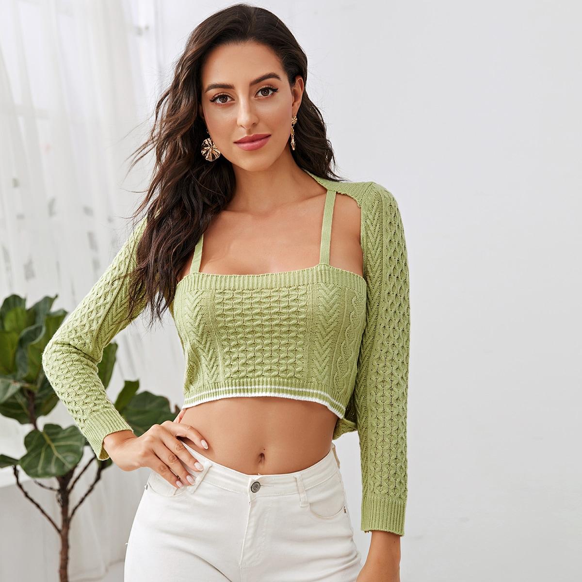 2 в 1 свитер
