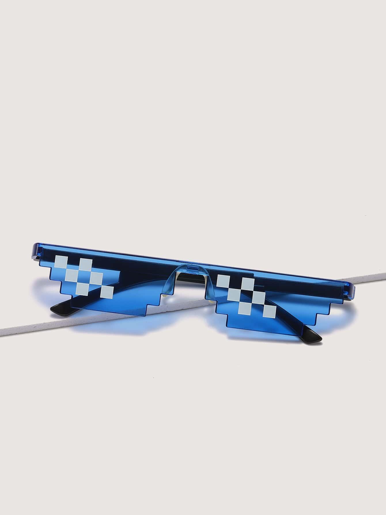 Rimless Mosaic Sunglasses thumbnail
