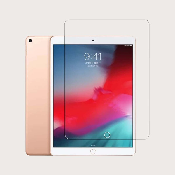 1pc iPad Screen Protection Tempered Glass Film, Clear