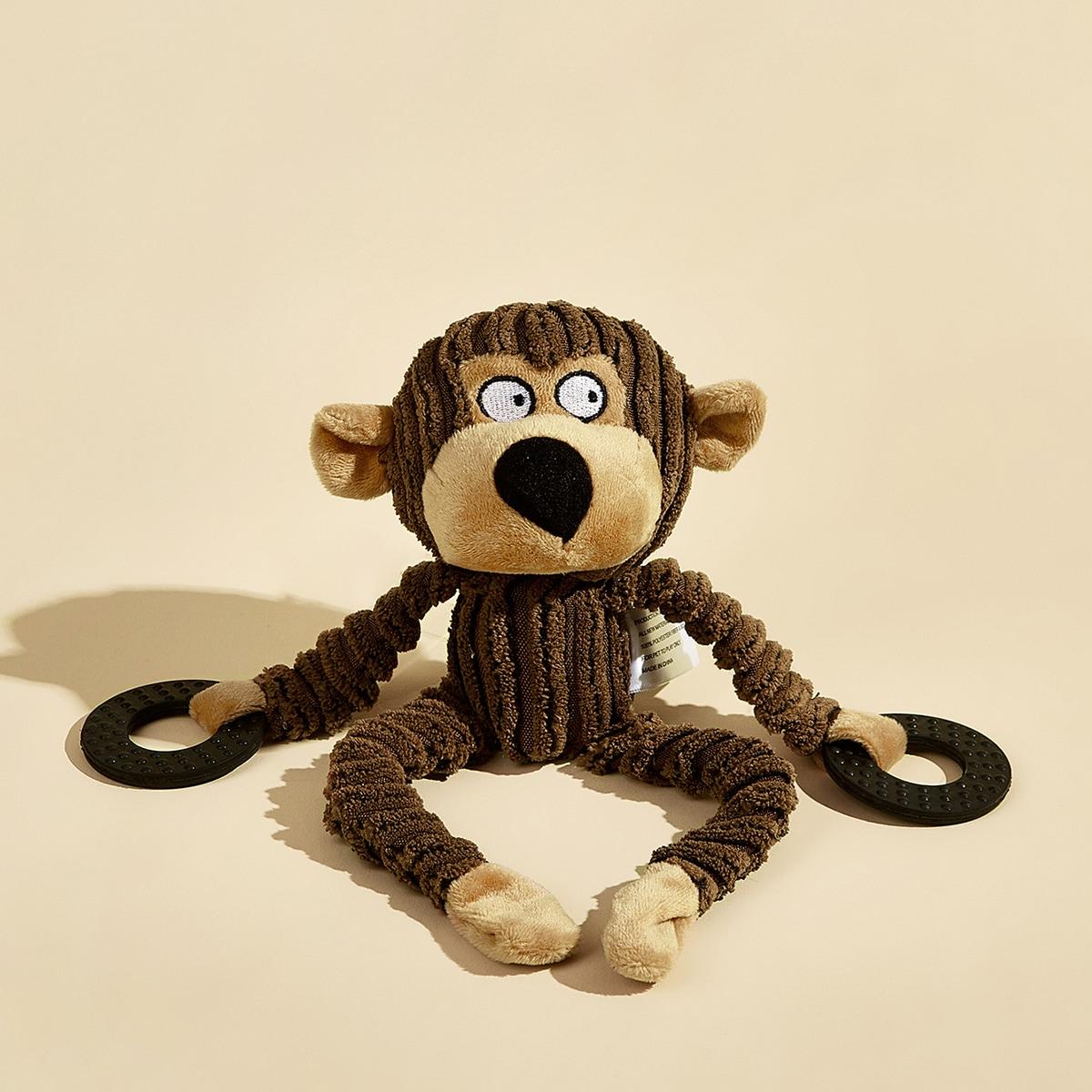 1 Stück Hundespielzeug in Karikatur Affeform