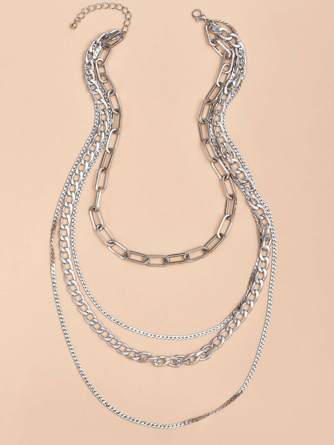 Layered Chain Necklace thumbnail