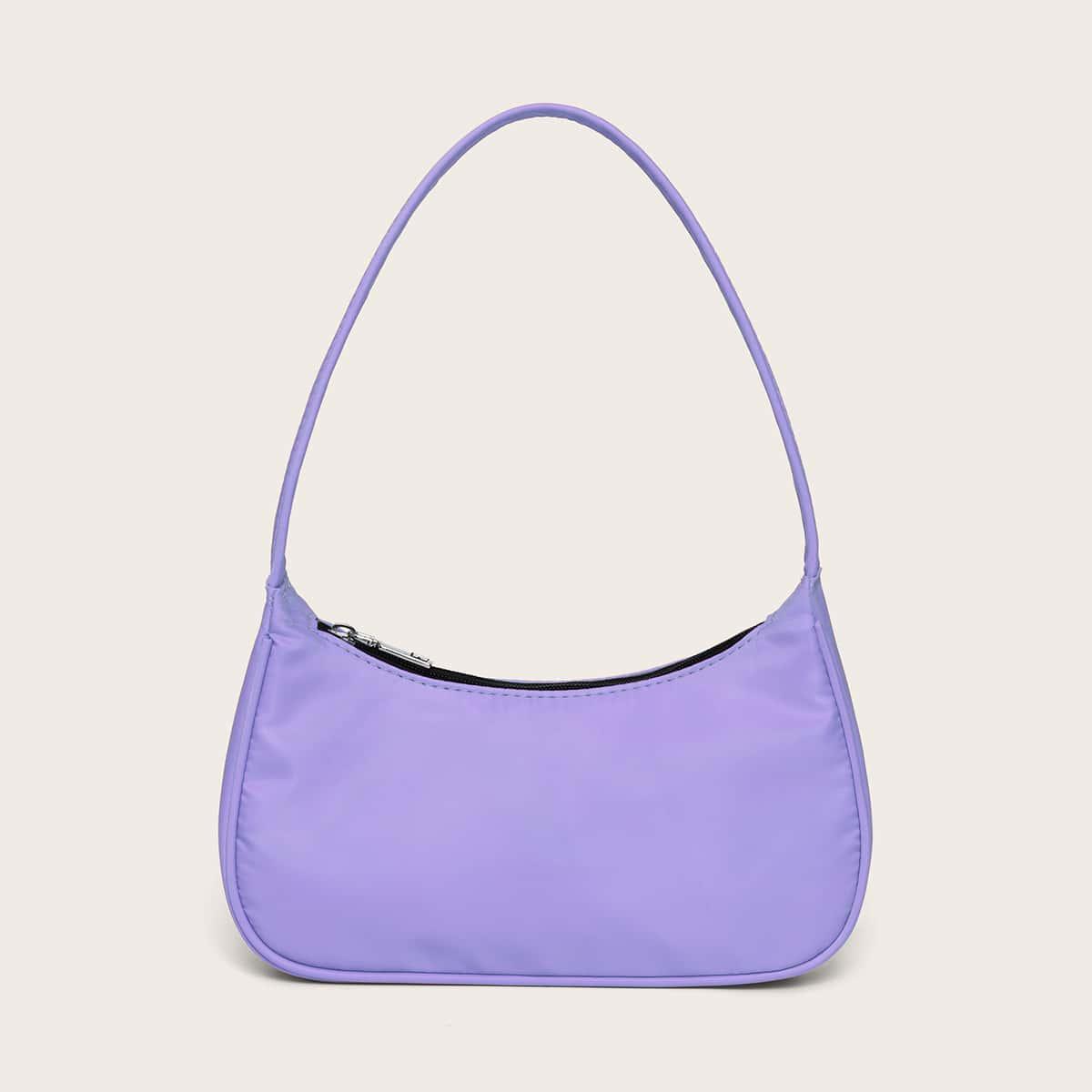 Минималистская сумка-багет
