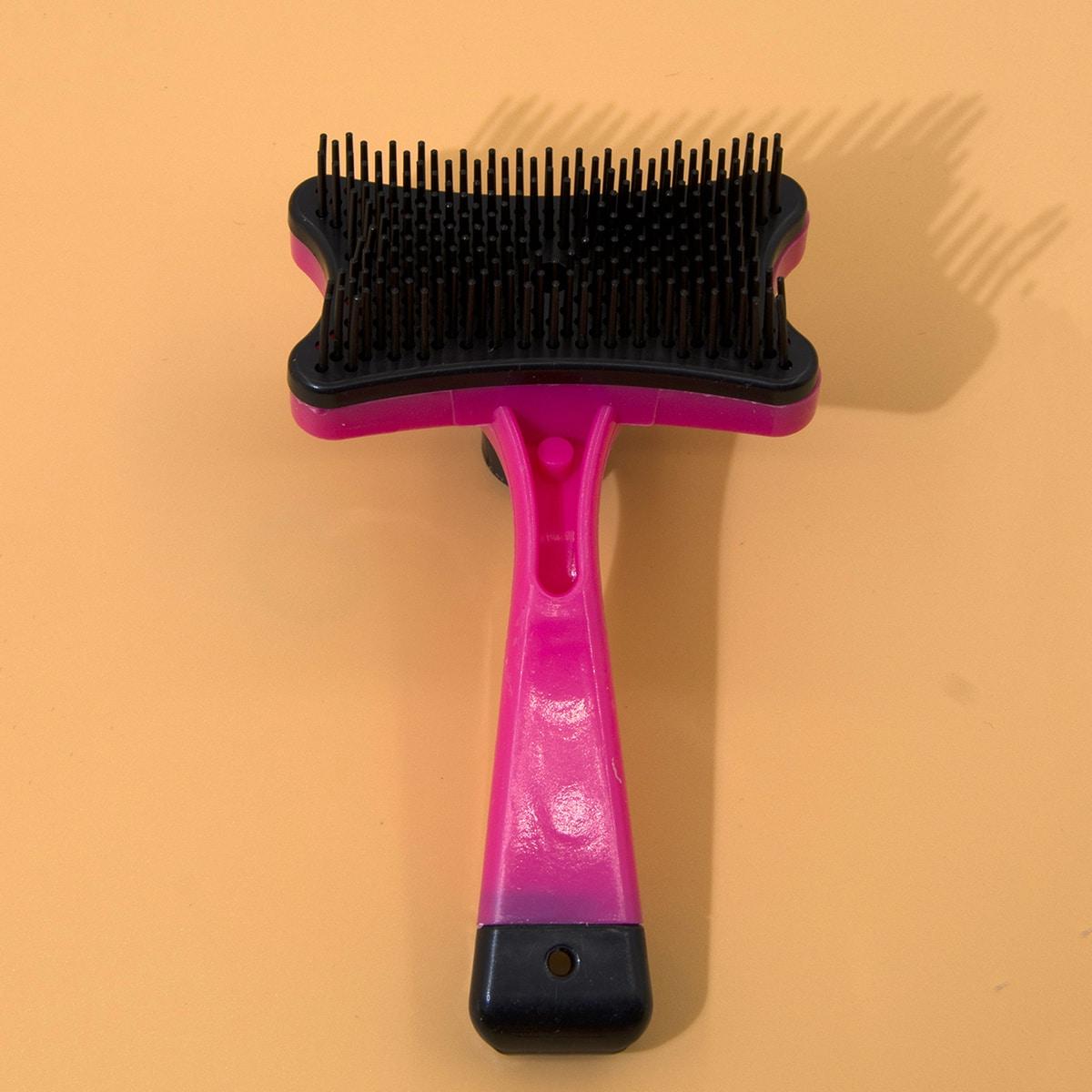 1 Stück Pflege- und Haarentfernungskamm für Katzen