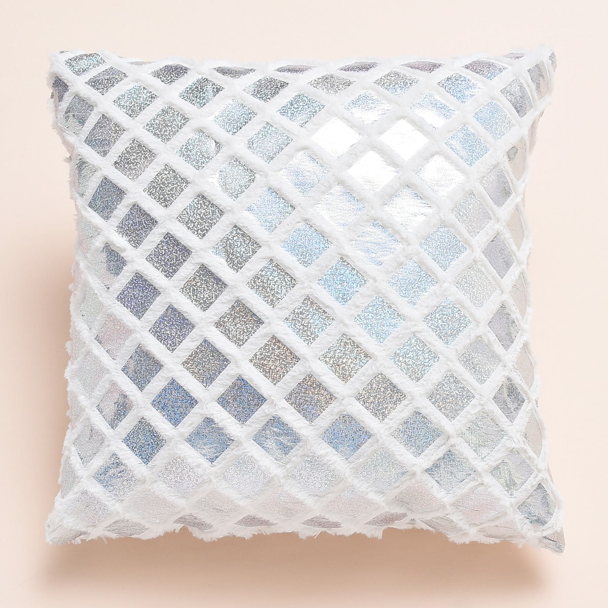Metallic Cushion Cover Without Filler