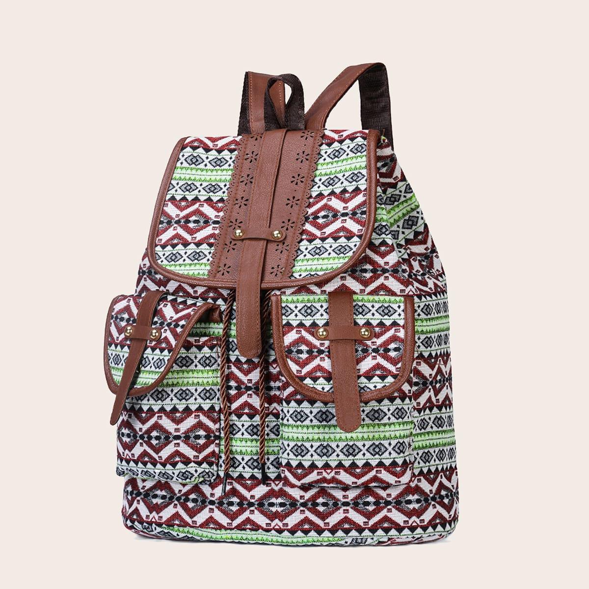 Рюкзак с племенным узором
