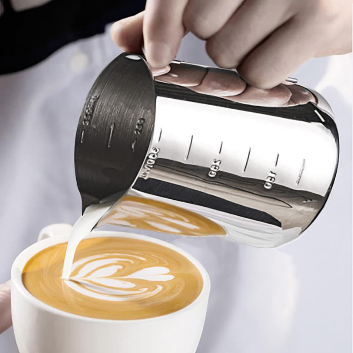 1pc Coffee Milk Frothing Pitcher