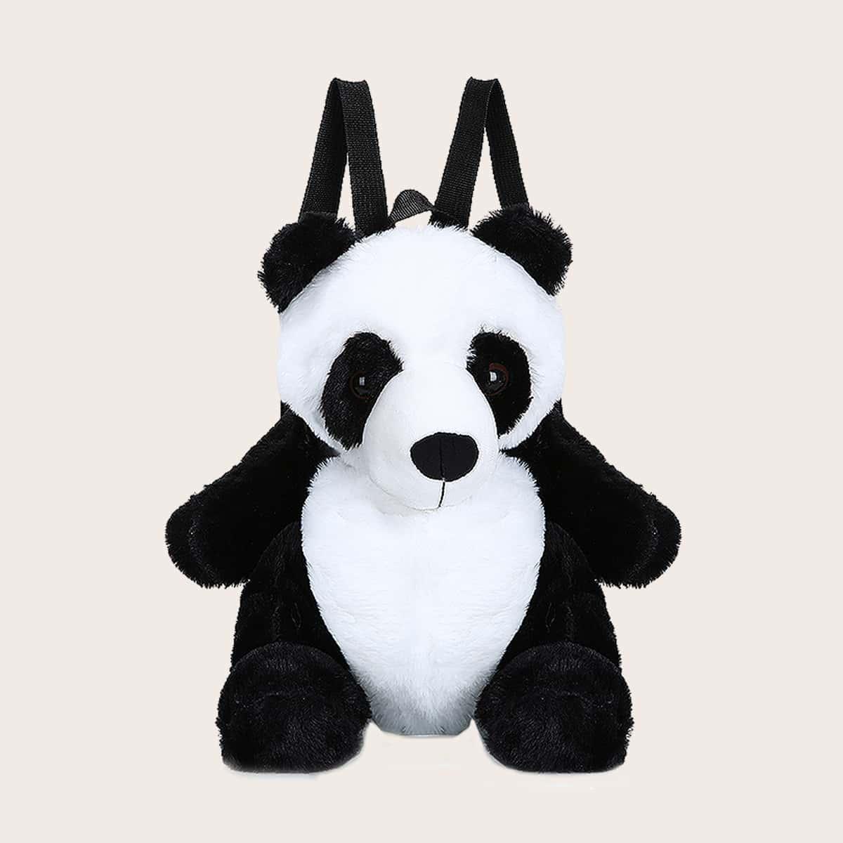 Girls Panda Shaped Backpack