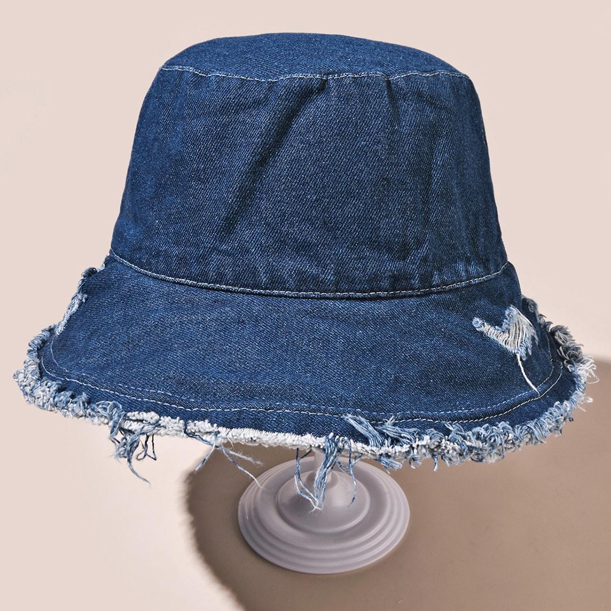 Шляпа с оригинальным низом