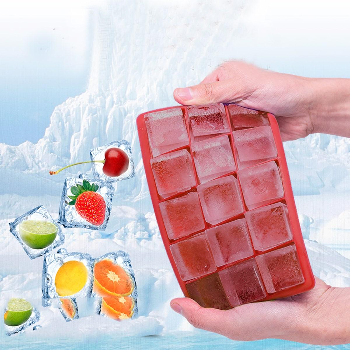 Eisform mit Gitter