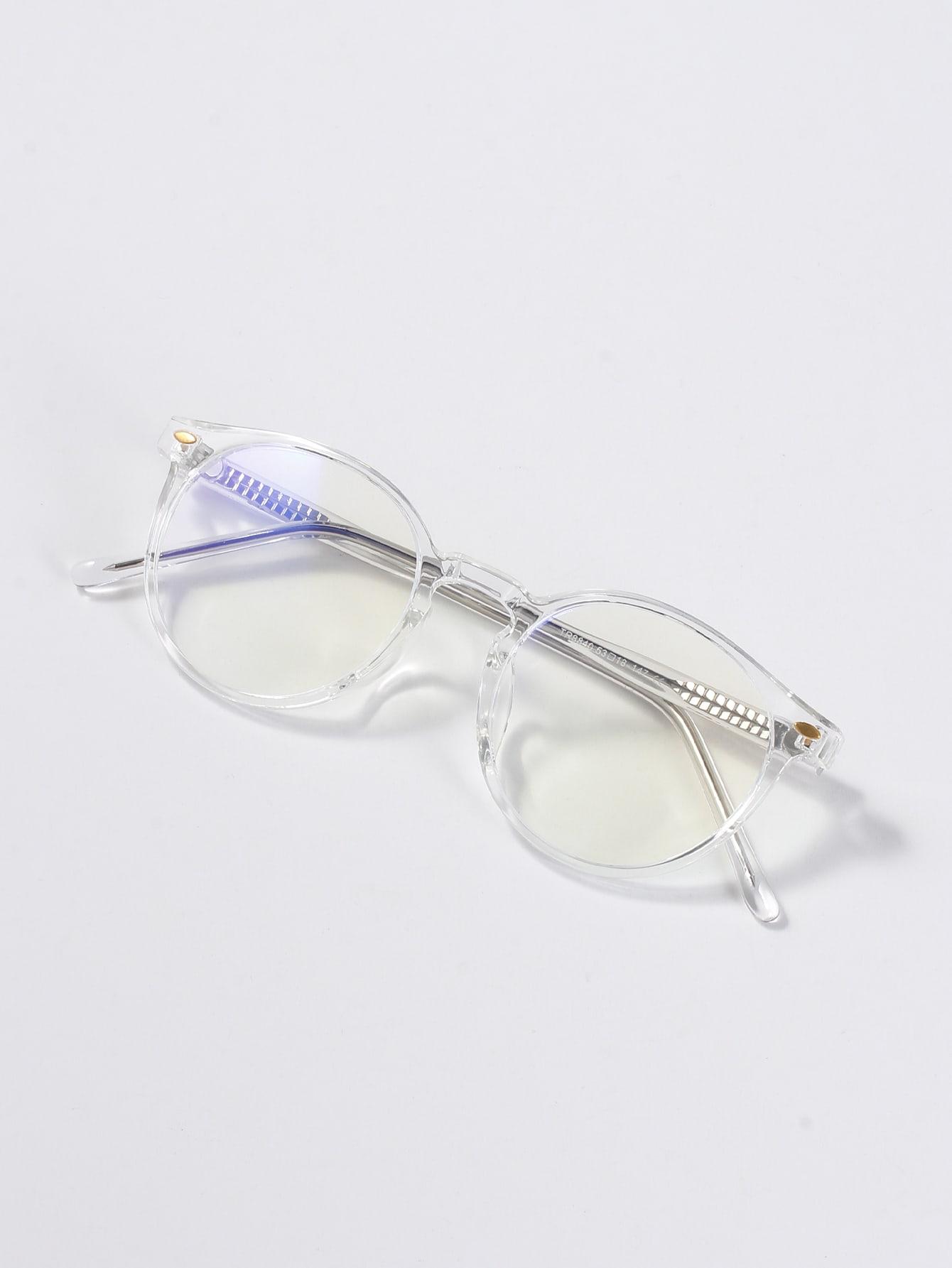 Studded Decor Acrylic Frame Glasses thumbnail