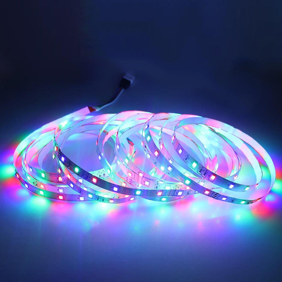 1 Stück 5M Tasten 5M LED Lampe