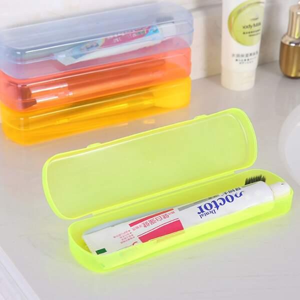 1шт дорожная сумка для хранения зубной пасты случайного, Многоцветный