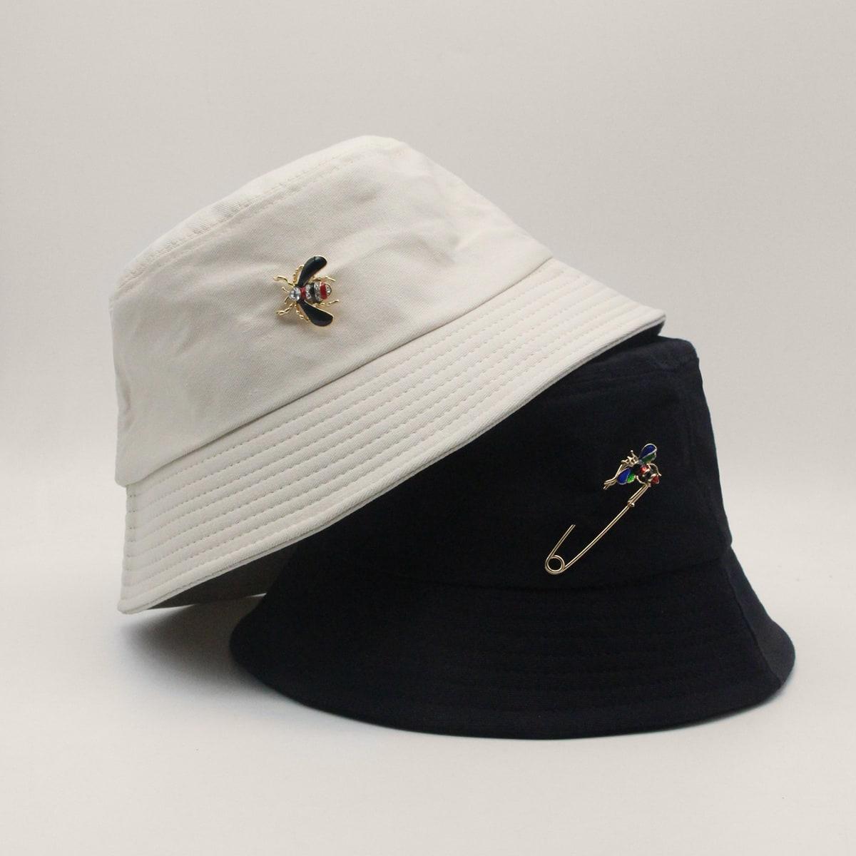 2шт шляпа с декором пчелки