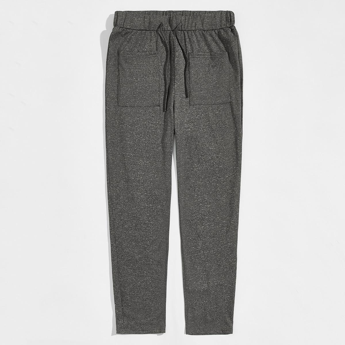 Мужские спортивные брюки на кулиске с карманом