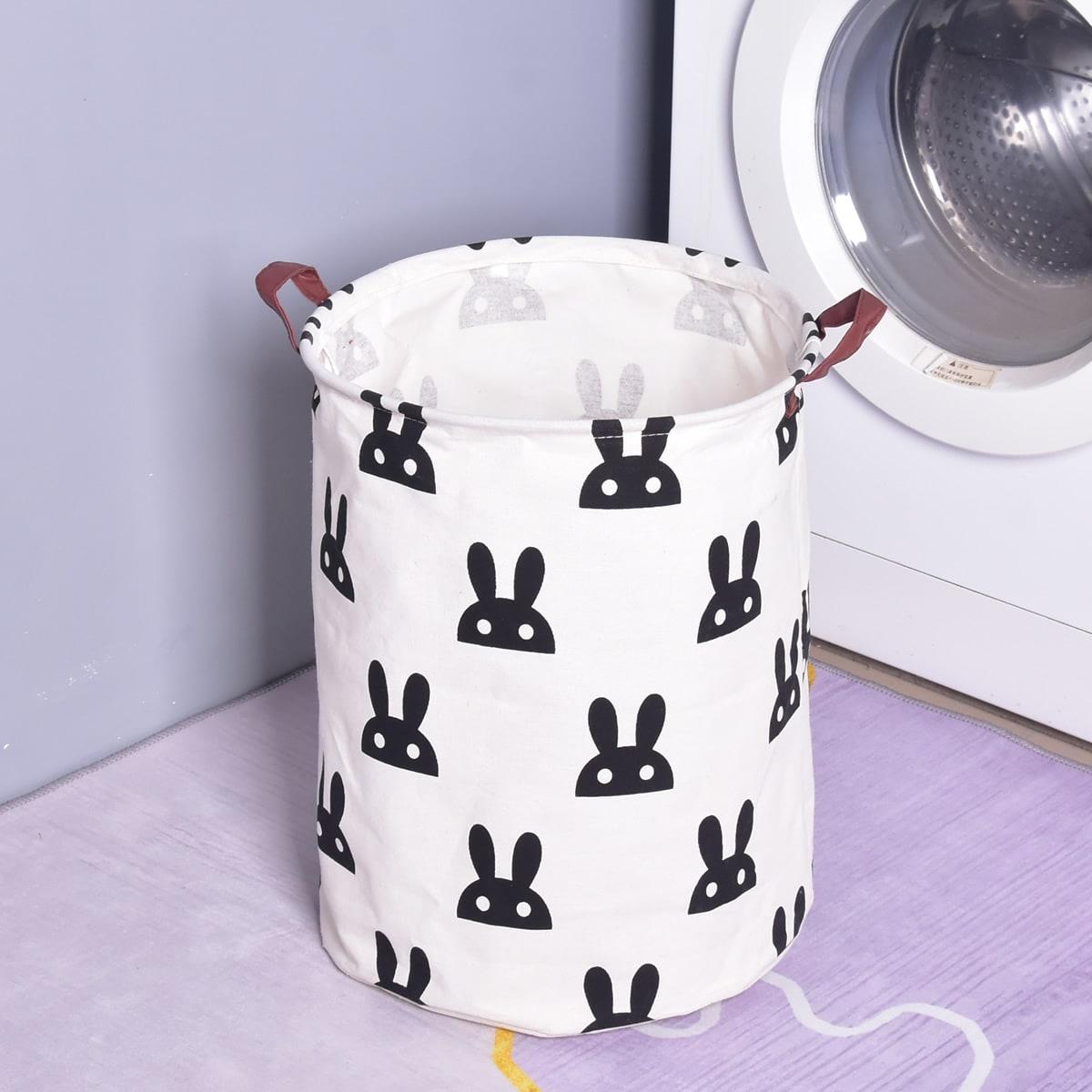 Складная корзина для грязной одежды с мультипликационным