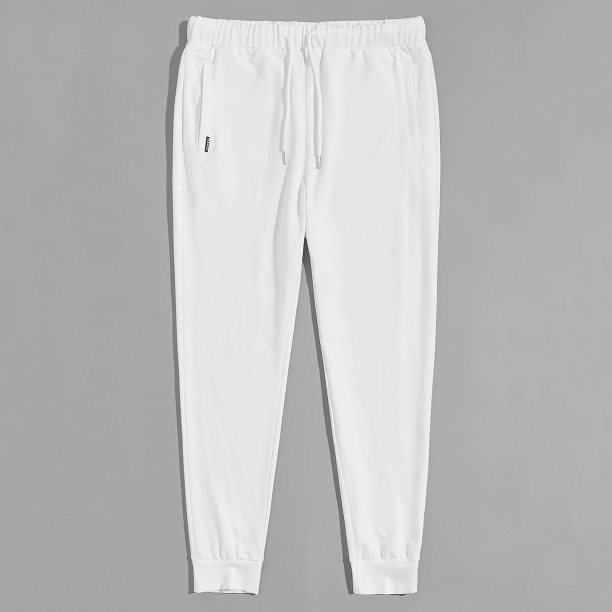 Мужские спортивные брюки на кулиске