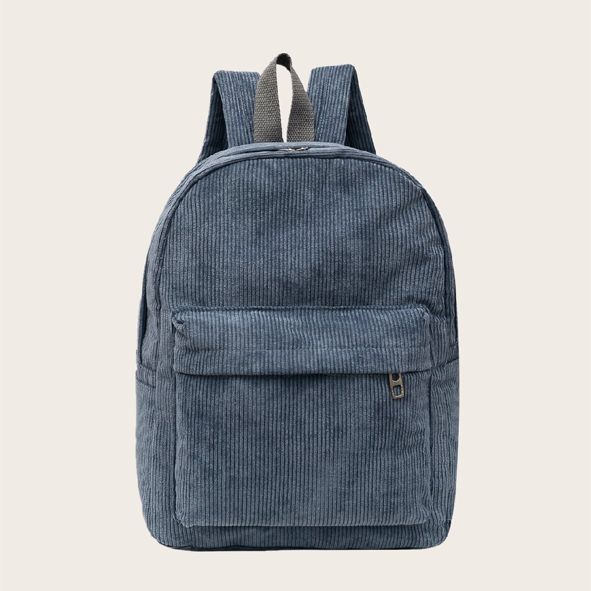 Минималистский вельветовый рюкзак с карманом
