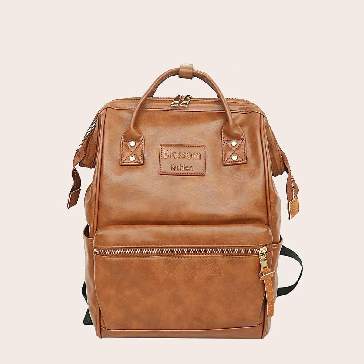Рюкзак большой емкости на молнии