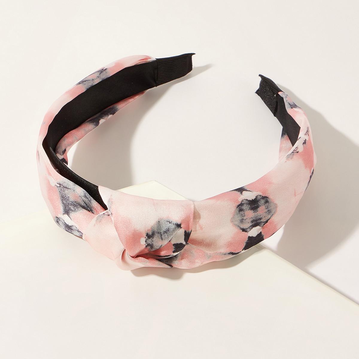 Tie Dye Pattern Hair Hoop, SHEIN  - buy with discount