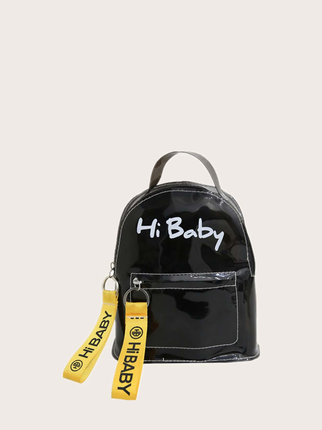 Clear Letter Graphic Backpack thumbnail