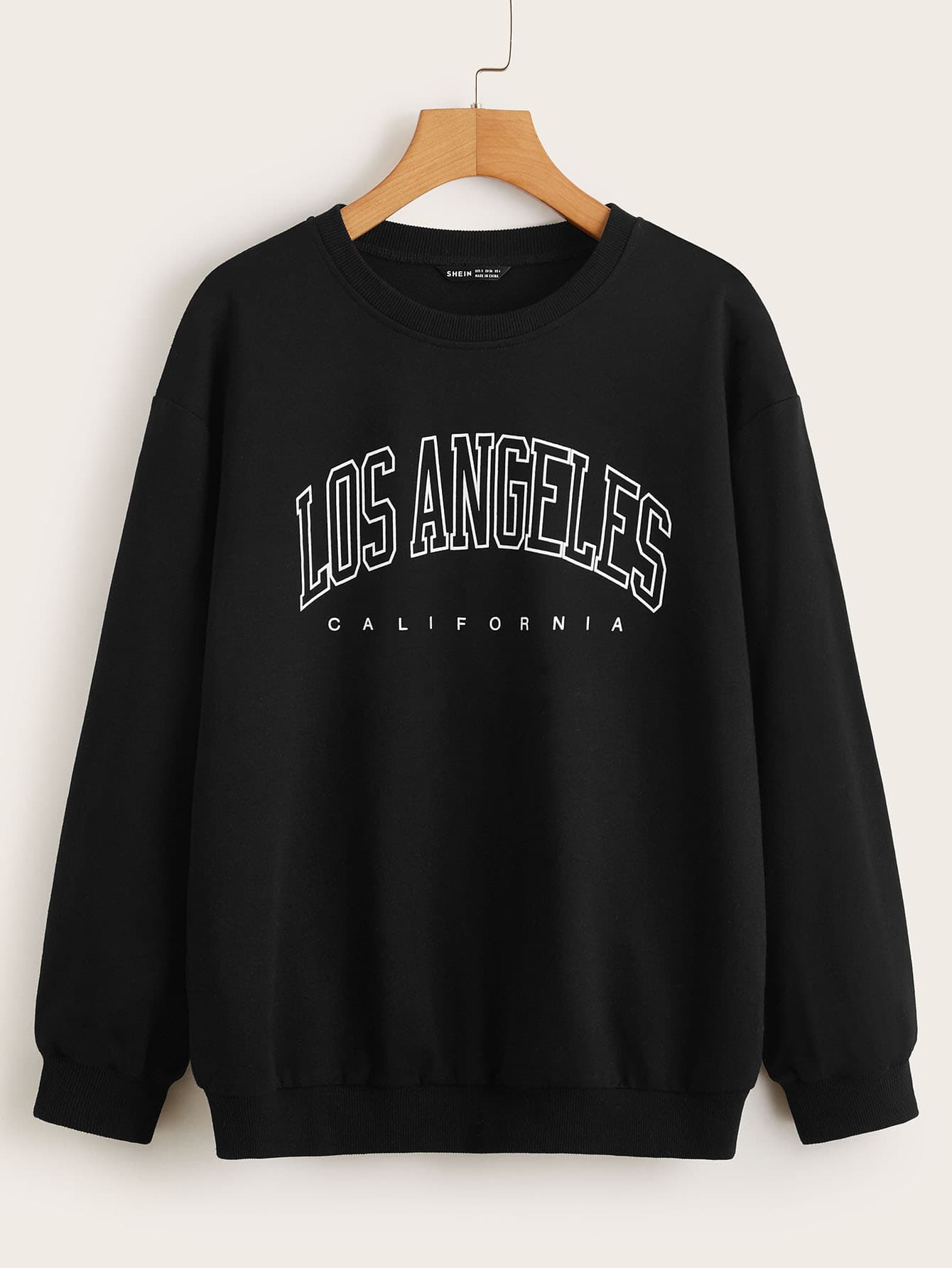 Letter Graphic Pullover thumbnail
