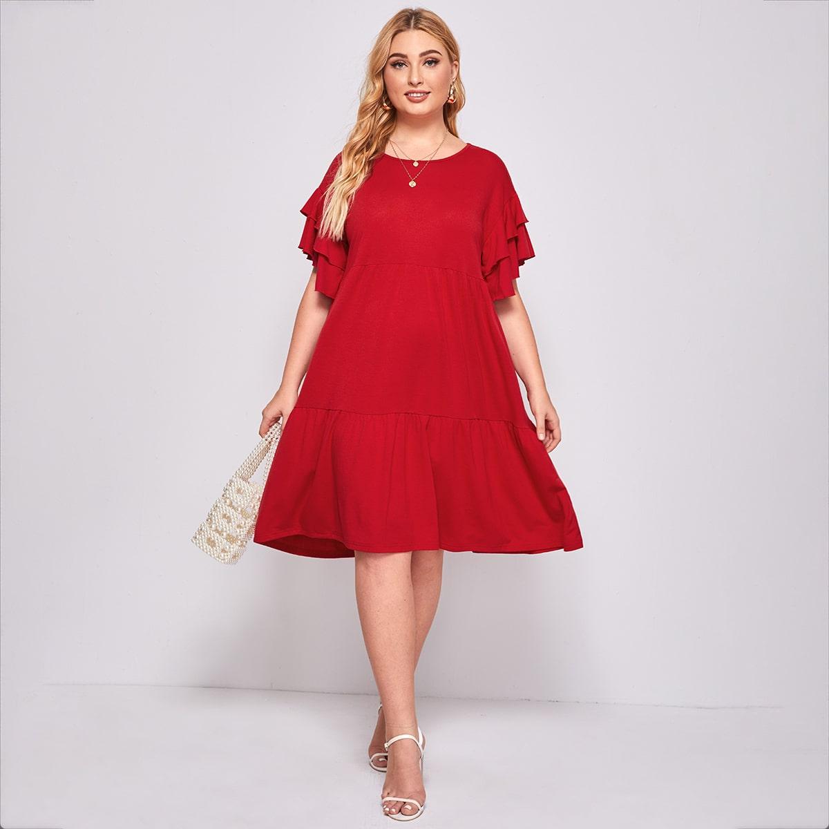 Платье размера плюс