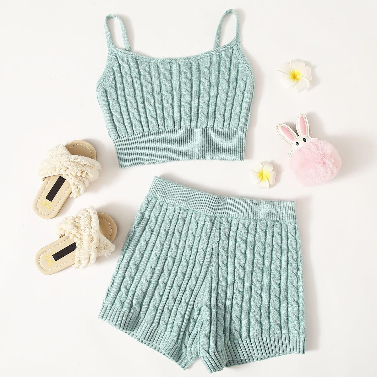 Пастельный шнуровка ровный цвет повседневный комплекты для девочек