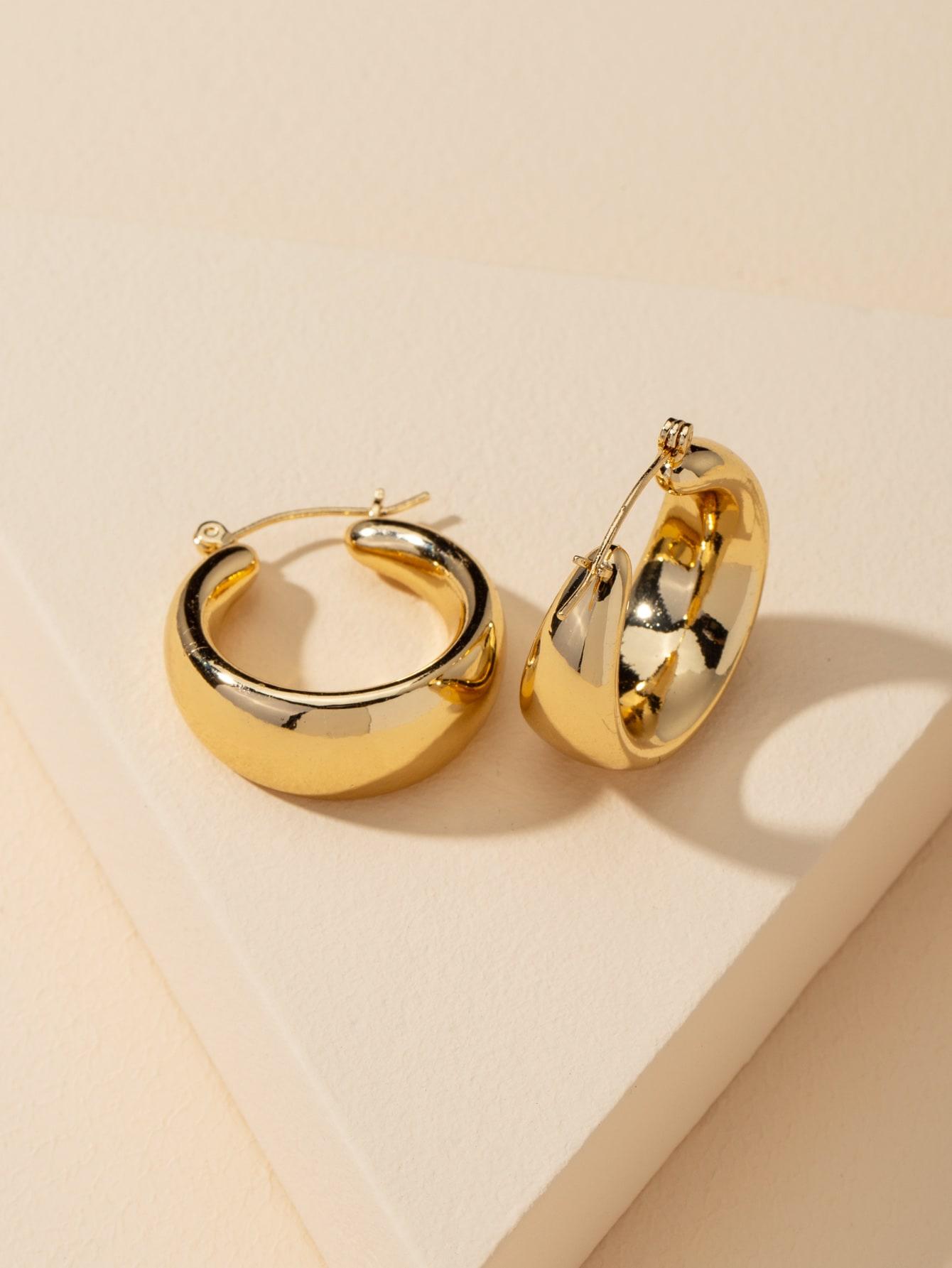 Металлические серьги-кольцаswear18200731266