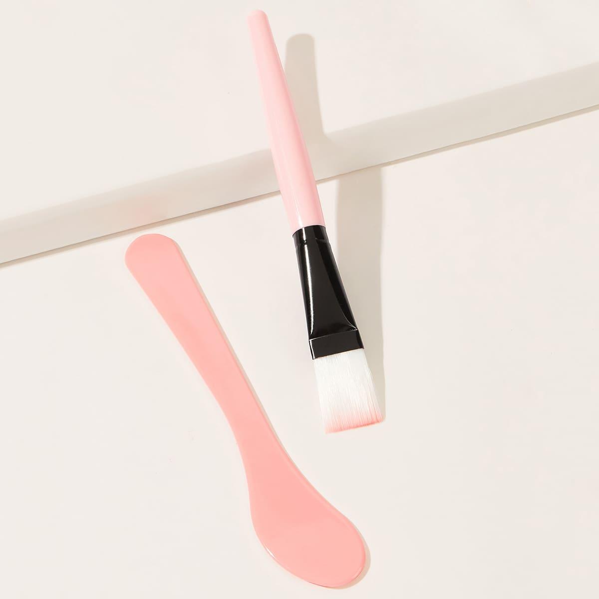 1 pieza cepillo de cuidado de piel con 1 pieza palo