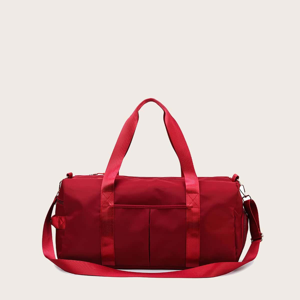 Минималистская сумка-бочонок большей емкости