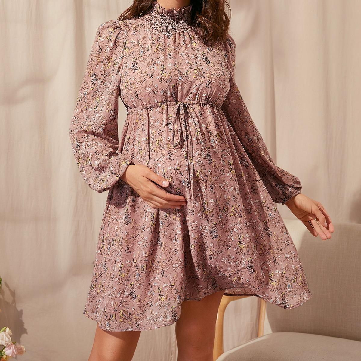 Платье на кулиске для беременных