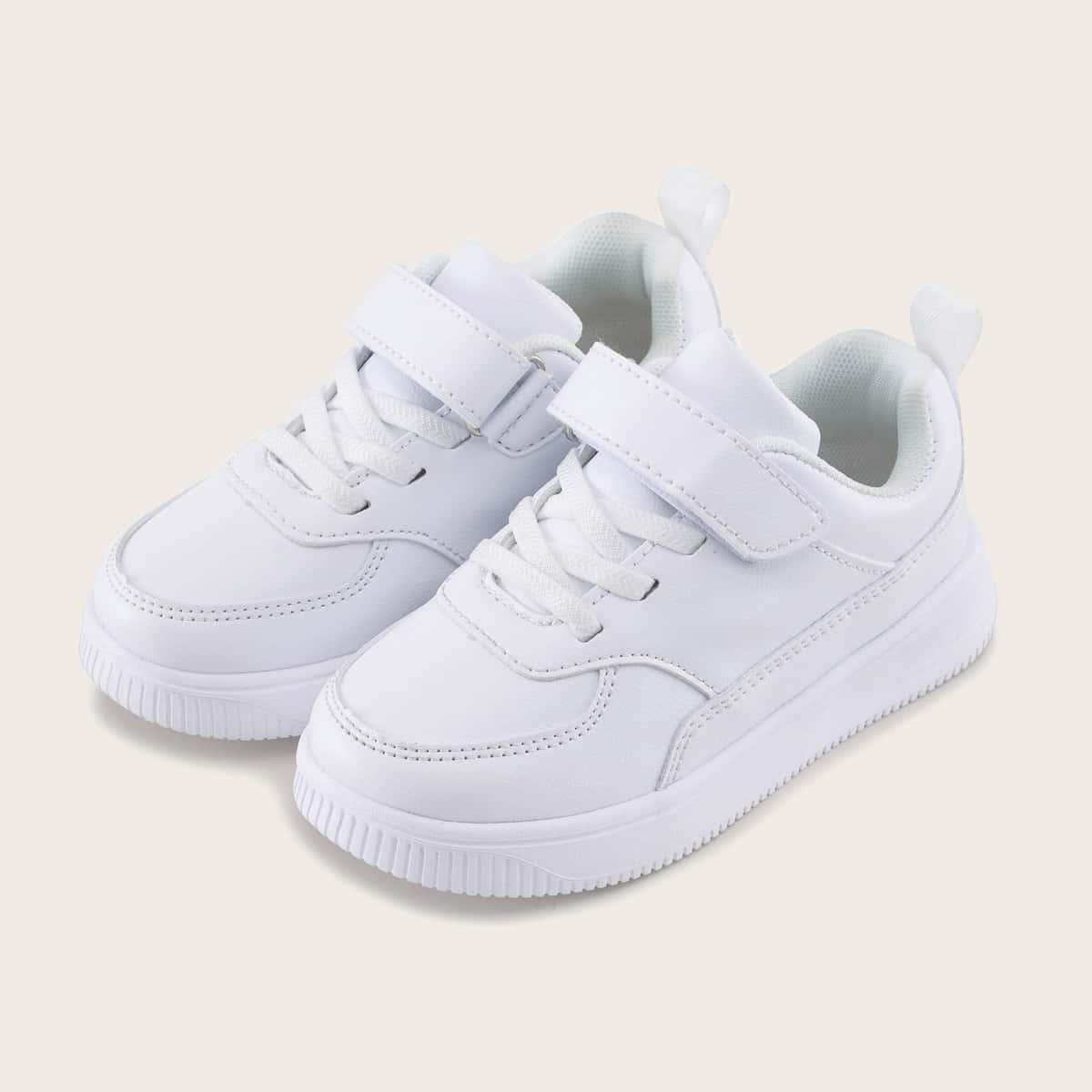 Минималистская обувь на липучке для девочек