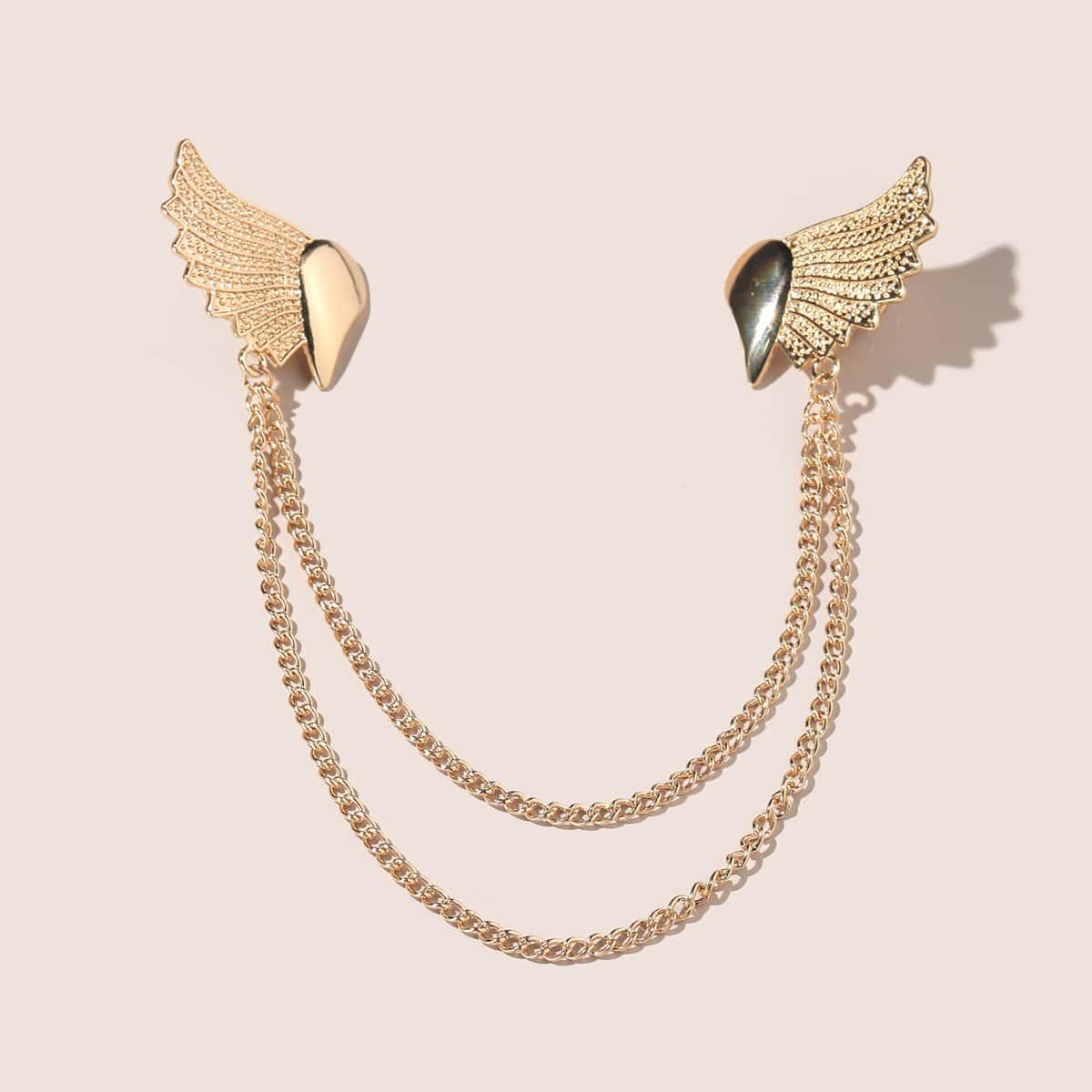 Kragen Clip mit Flügel Design