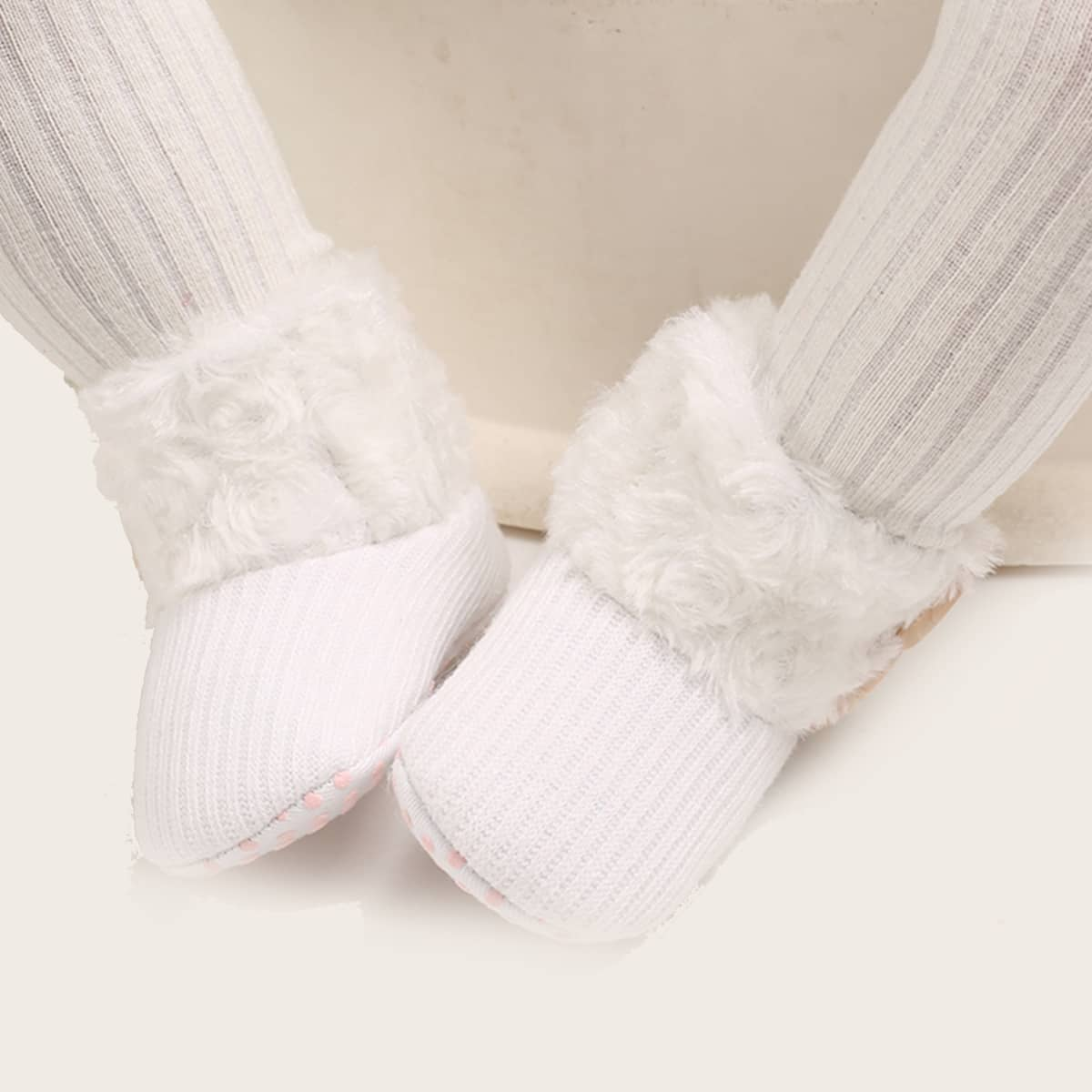 Плюшевые сапоги для девочек