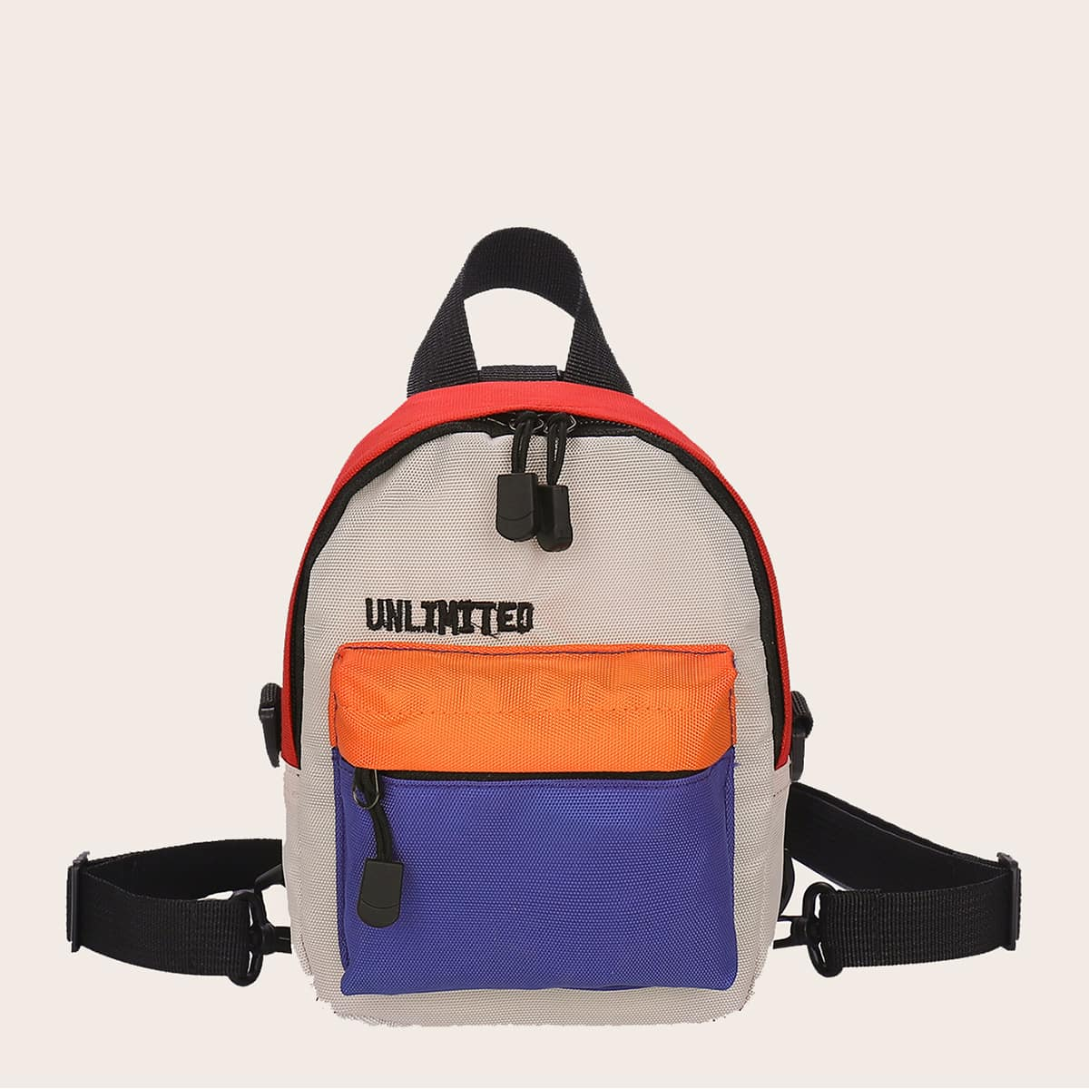 Контрастный рюкзак