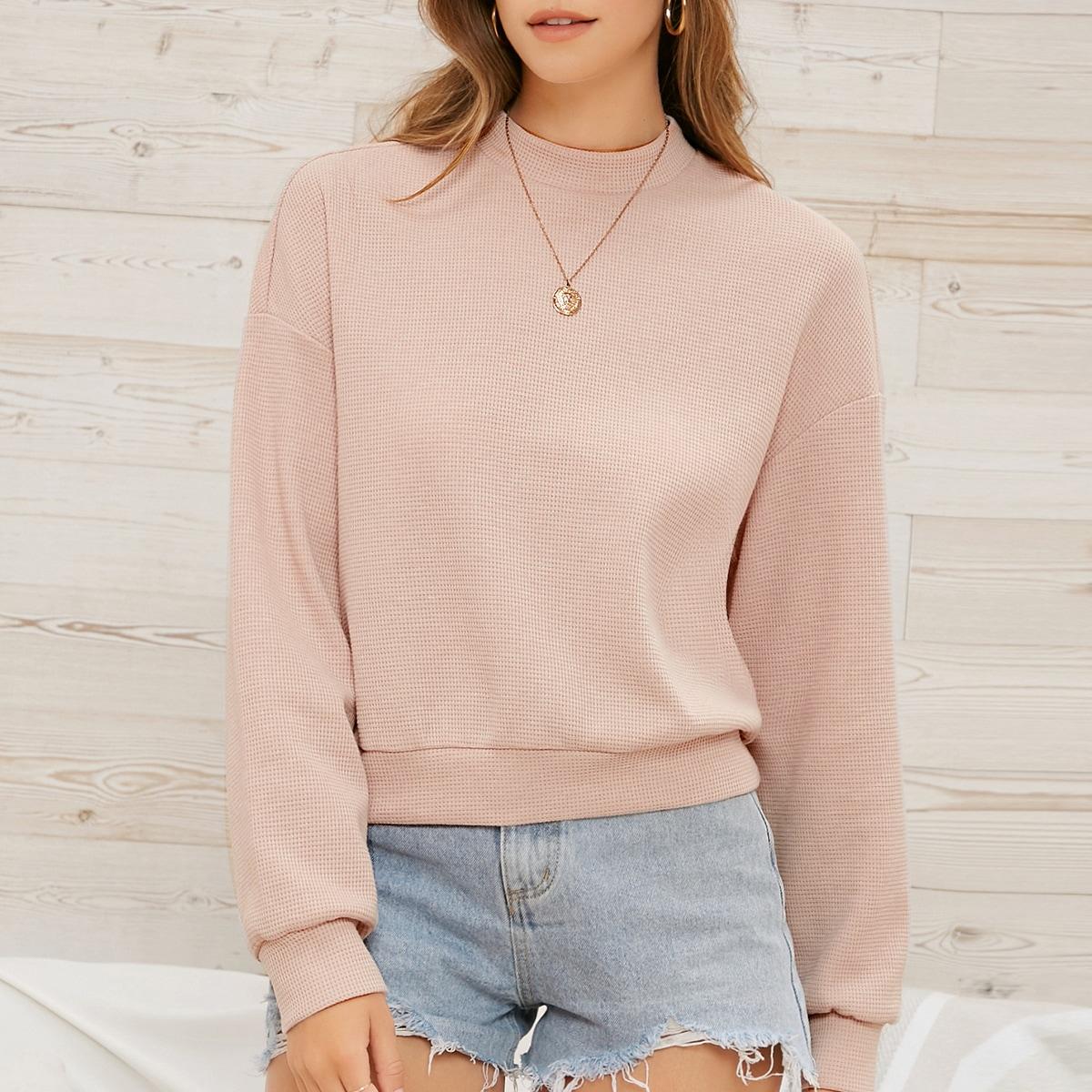 Пуловер с принтом тай дай