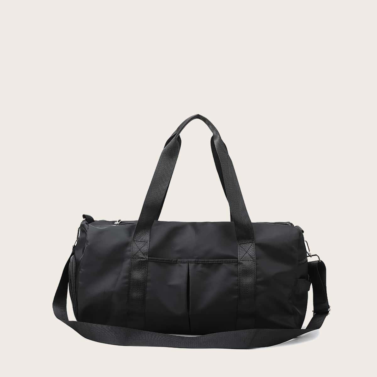 Минималистская сумка-бочонок