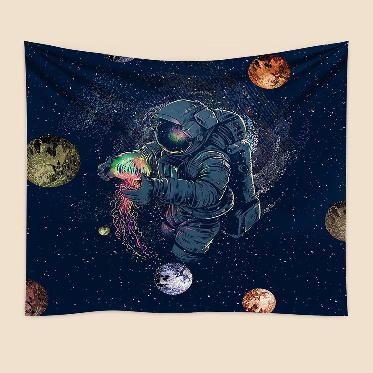Teppich mit Astronaut Muster