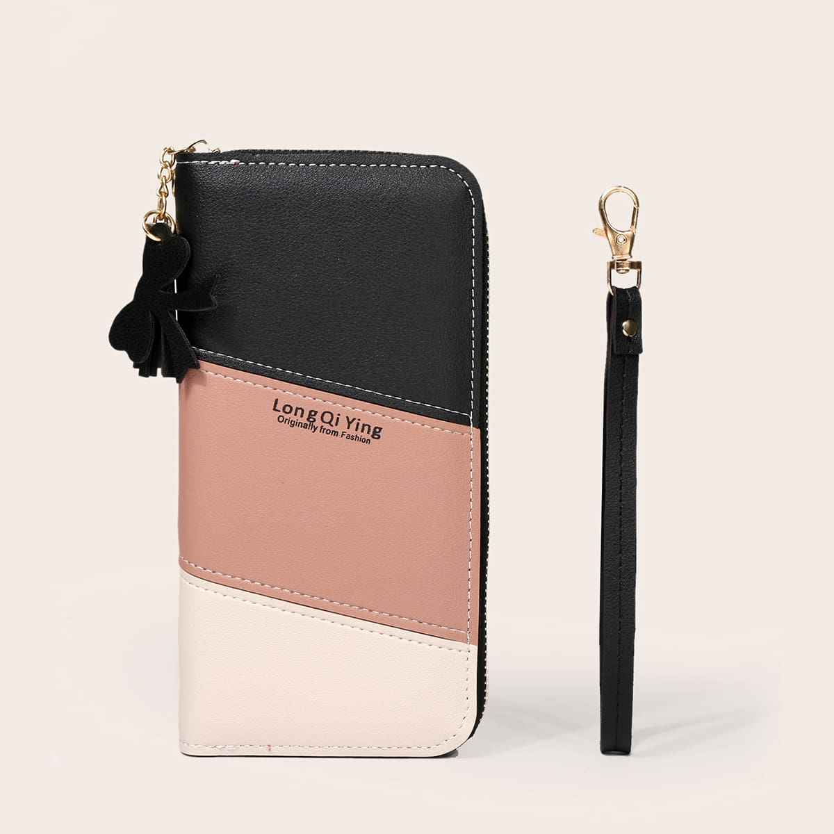 Geldbörse mit Quasten Dekor & Armband
