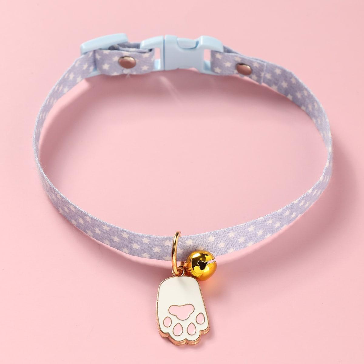 1pc Cat Bell Charm Collar