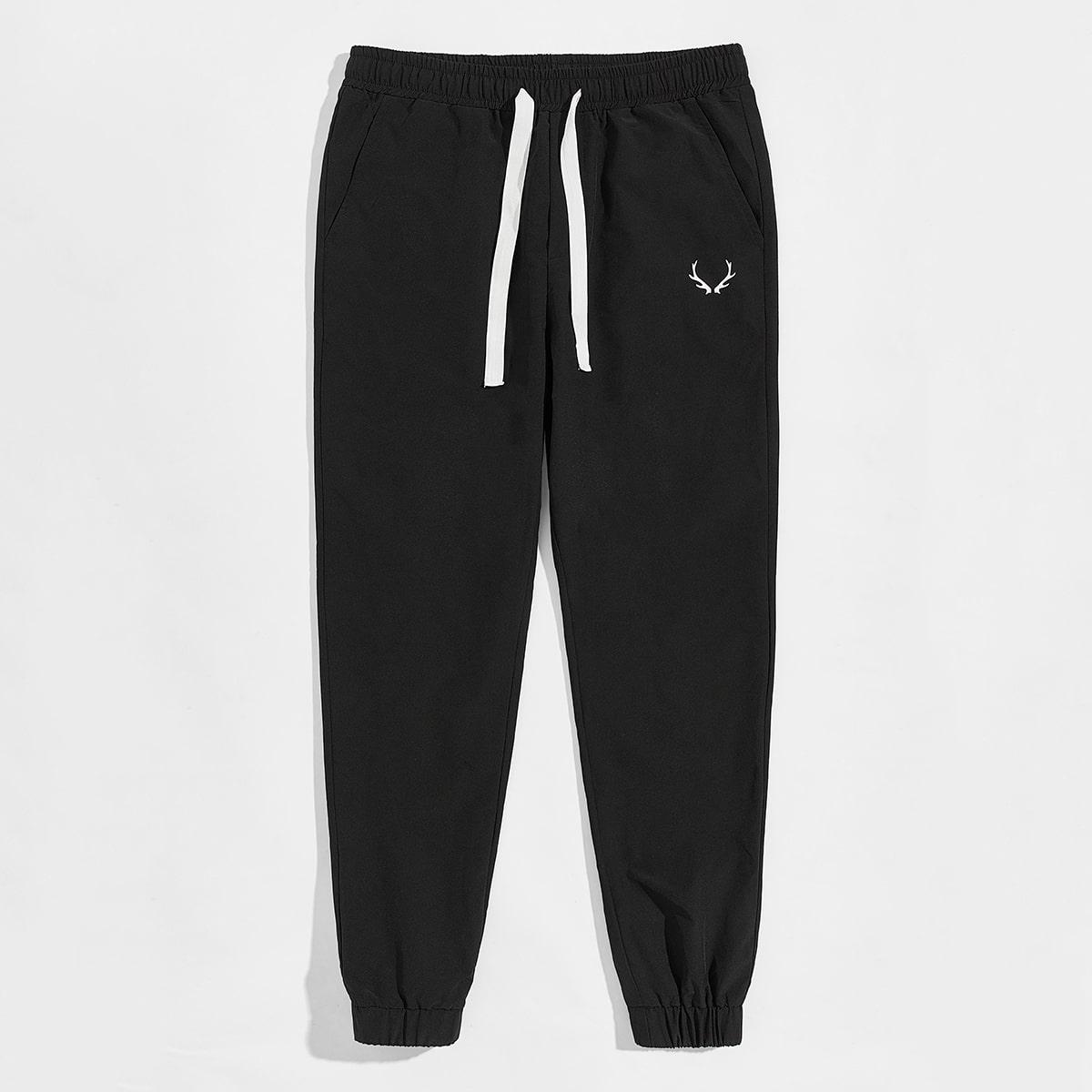 Мужские спортивные брюки с графическим принтом
