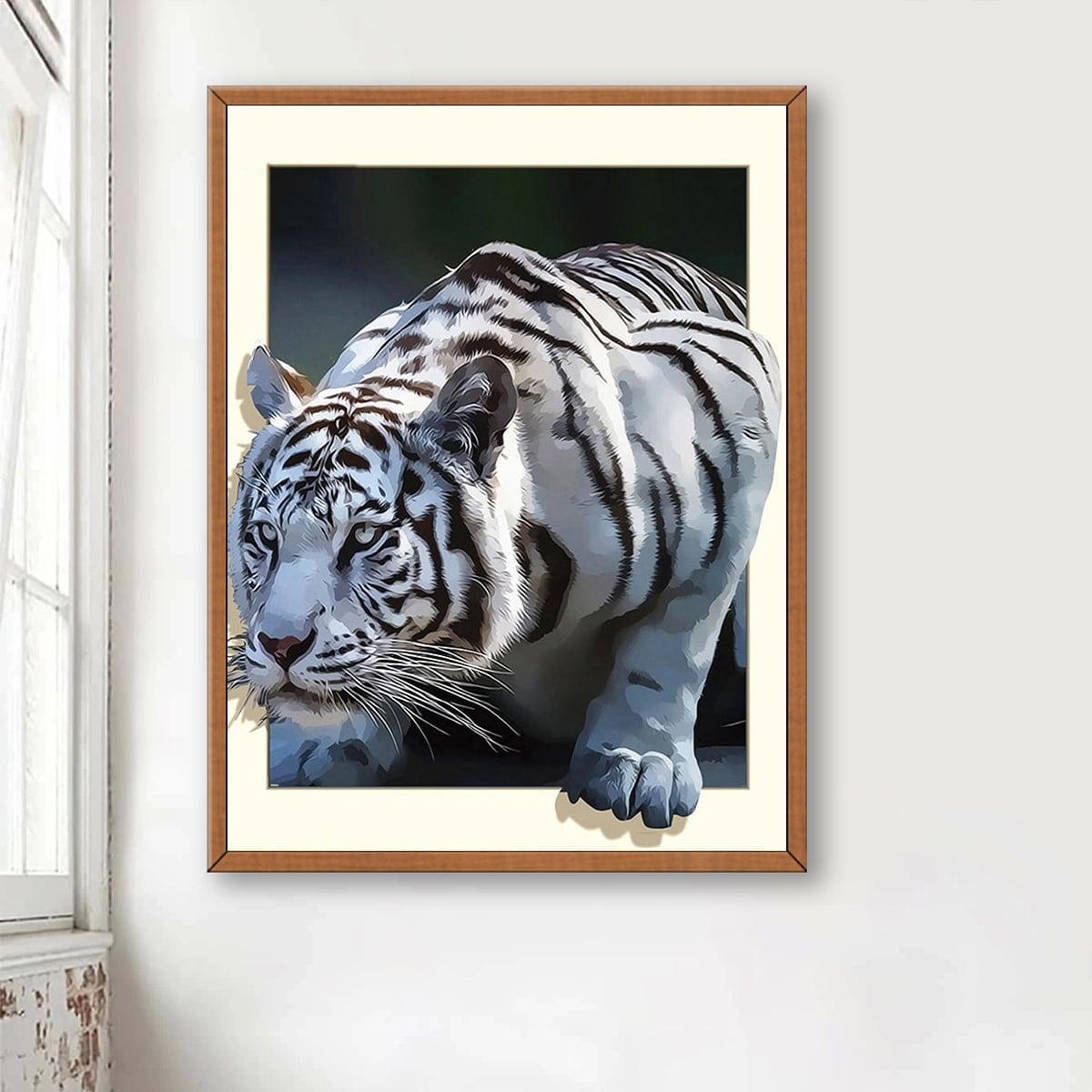 DIY алмазная картина с принтом тигра