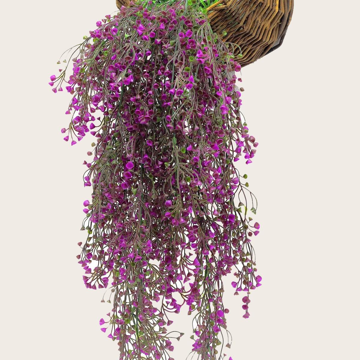 1 Stück künstliche hängende Weinblume