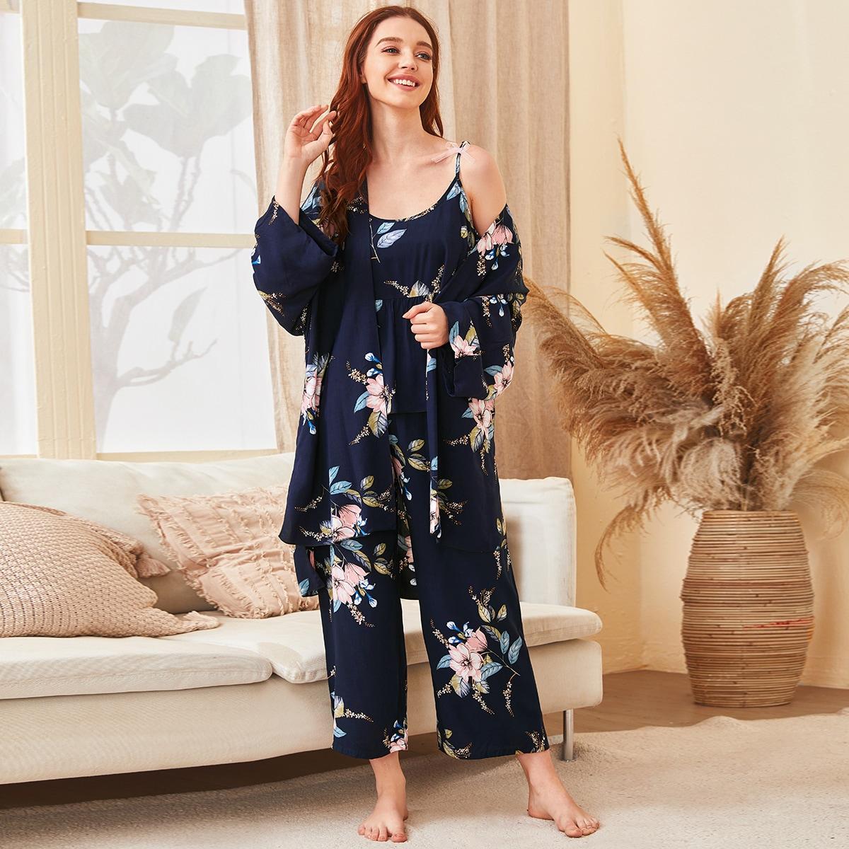 Пижама с графическим принтом 3шт