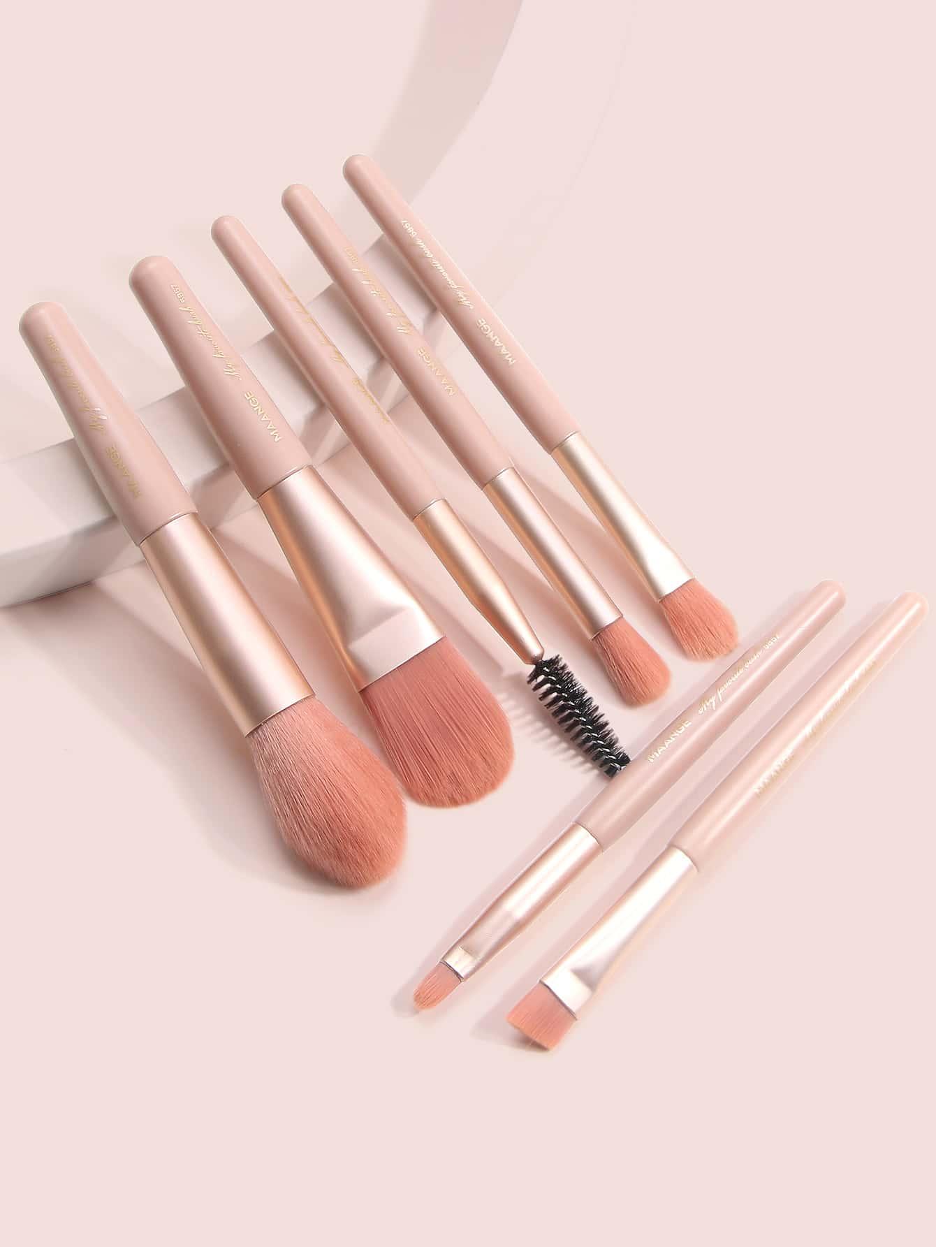 Набор плоских и угловых кисточек для макияжаsbbeauty03200413747