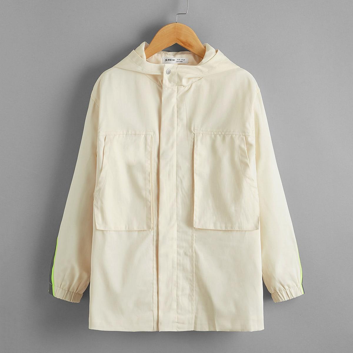 Пальто с карманом для мальчиков