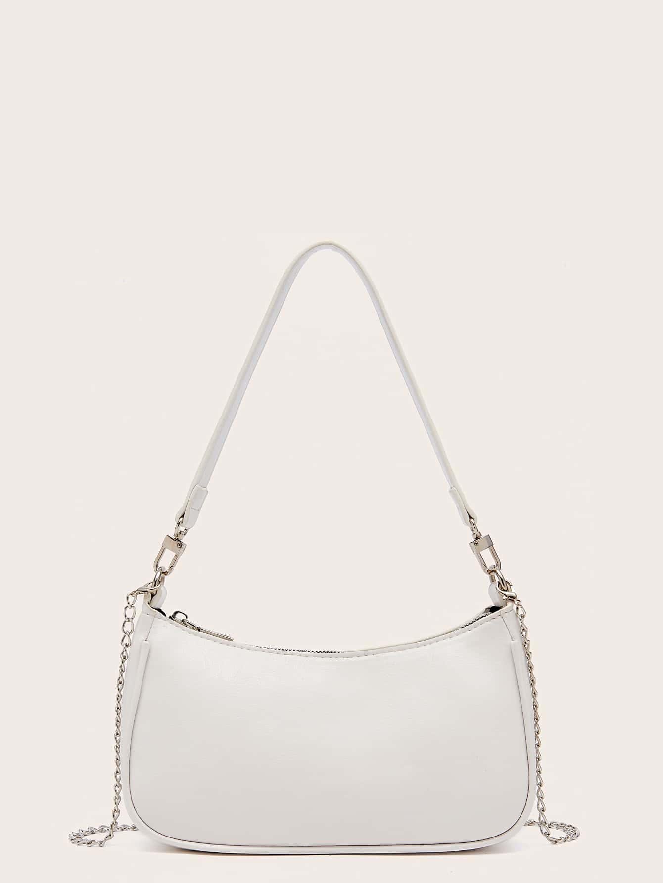 Минималистская сумка-багетswbag09200821671